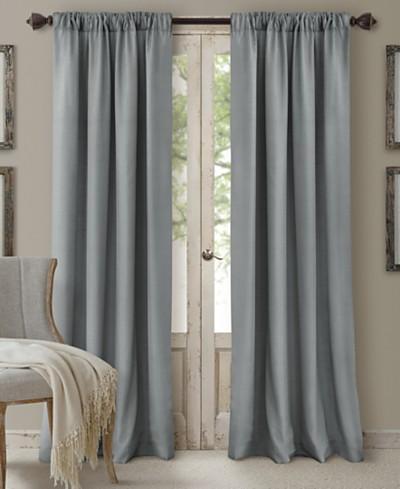 Elrene Cachet 3-in-1 Room Darkening Window Treatment Collection - Silk Look!
