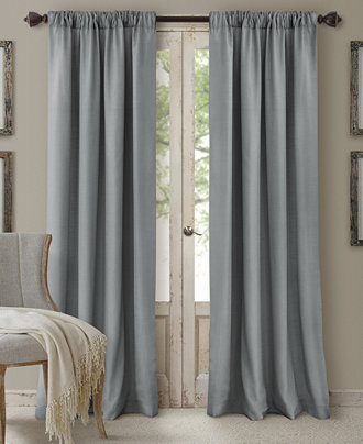Elrene Cachet 3-in-1 Room Darkening Window Treatment Collection ...