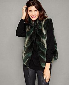 The Fur Vault Coyote Fur Vest