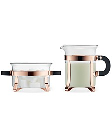 Chambord Classic Copper Sugar & Creamer Set