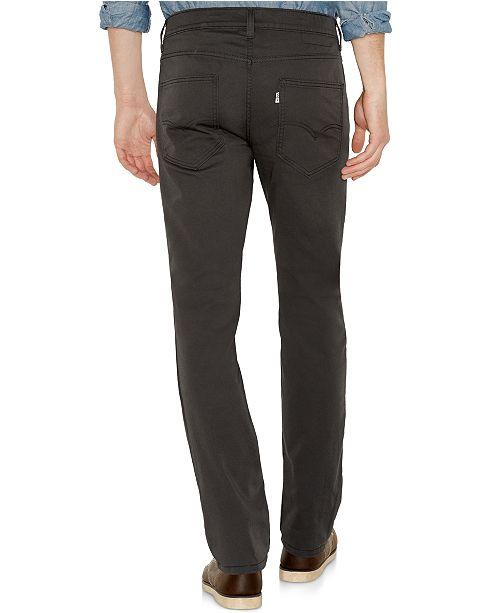 6a133dabfe7 Levi's 511™ Slim Fit Hybrid Trousers & Reviews - Jeans - Men - Macy's