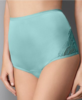 Vanity Fair Perfectly Yours Lace Nouveau Nylon Brief 13001