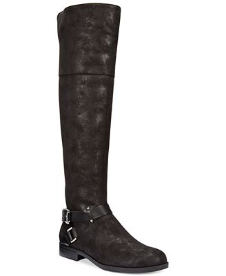 Bar III Dolly Wide-Calf To The Knee Boots, Only at Macy's
