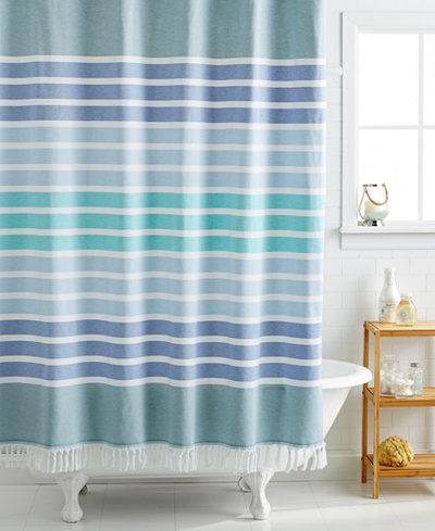 Kassatex Bodrum 72  x 72  Shower CurtainShower Curtains   Macy s. Blue And Silver Shower Curtain. Home Design Ideas