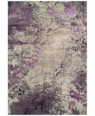 "CLOSEOUT! Modern Abstracts Terrene Orchid 3'3"" x 5'1"" Area Rug"