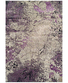 "CLOSEOUT! Dalyn Modern Abstracts Terrene Orchid 5'3"" x 7'7"" Area Rug"