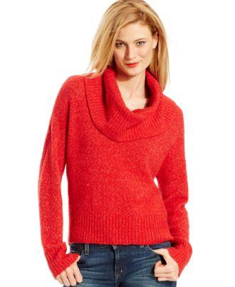MICHAEL Michael Kors Cowl-Neck Hi-Low Sweater