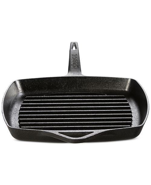 """Lodge Rust Resistant 11"""" Cast Iron Grill Pan"""