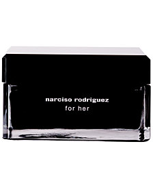 narciso rodriguez for her body cream, 5.2 oz