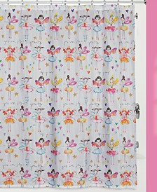 Creative Bath Faerie Princess Shower Curtain