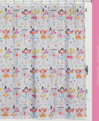 Creative Bath Faerie Princess Shower Curtain