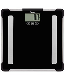 Glass Body Analyzing Bathroom Scale, 400lb