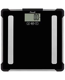 Glass Body Analyzing Bathroom Scale, 400lb