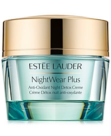Estée Lauder NightWear Plus Anti-Oxidant Night Detox Creme, 1.7 oz