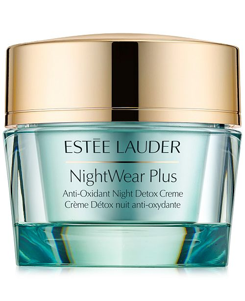 Estee Lauder NightWear Plus Anti-Oxidant Night Detox Creme, 1.7 oz