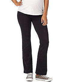 Motherhood Maternity Foldover-Waist Active Pants