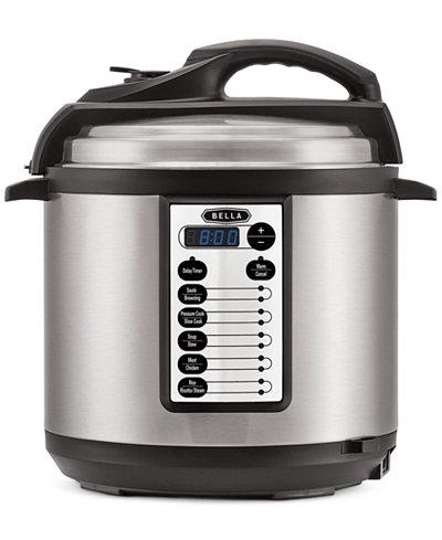 Bella 14467 6-Qt. Electric Pressure Cooker