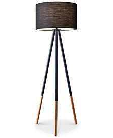 Adesso Louise Tripod Floor Lamp