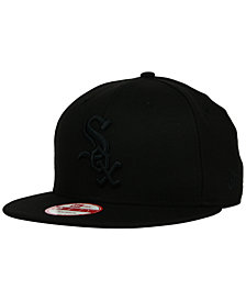 New Era Chicago White Sox Black on Black 9FIFTY Snapback Cap