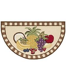 "Nourison Fruit 32"" x 19"" Kitchen Rug"