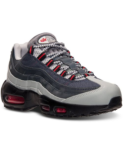promo code d8356 a518f ... Nike Men s Air Max 95 Essential Running Sneakers from Finish ...
