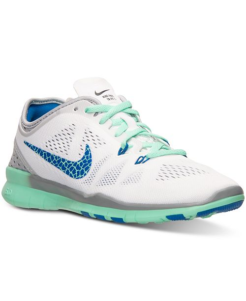 best sneakers bbc3e 0f097 Nike Women s Free 5.0 TR Fit 5 Breathe Training Sneakers from Finish Line  ...