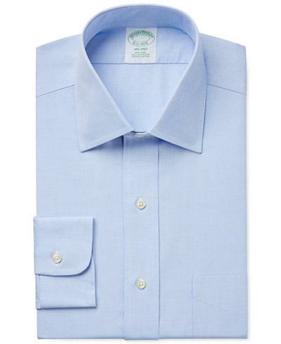 brooks brothers milano extra slim fit non iron pinpoint