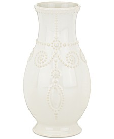 French Perle Fluted Vase