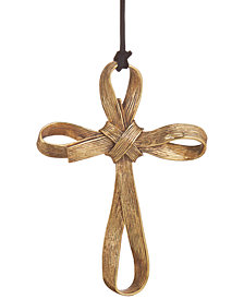 Michael Aram Antique Gold-Tone Palm Cross Ornament