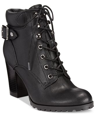 Style & Co Caitlin Lace-Up Booties, Created for Macy's