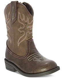 NinaMairabela Cowgirl Boots, Toddler & Little Girls