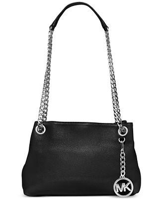 michael michael kors jet set chain item medium messenger handbags. Black Bedroom Furniture Sets. Home Design Ideas