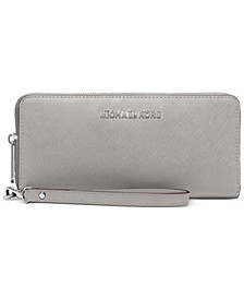 Jet Set Travel Crossgrain Leather Continental Wallet