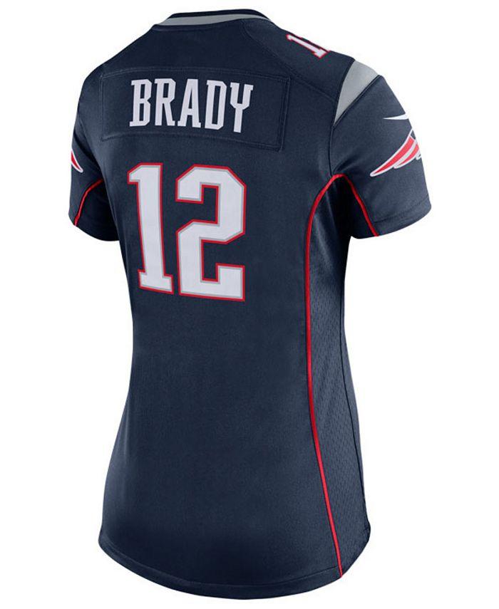 Women's Tom Brady New England Patriots Game Jersey