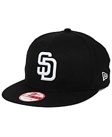 San Diego Padres B-Dub 9FIFTY Snapback Cap