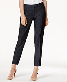 Anne Klein Denim Trouser