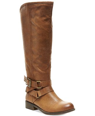 Madden Girl Corporel Wide Calf Boots - Boots - Shoes - Macy's