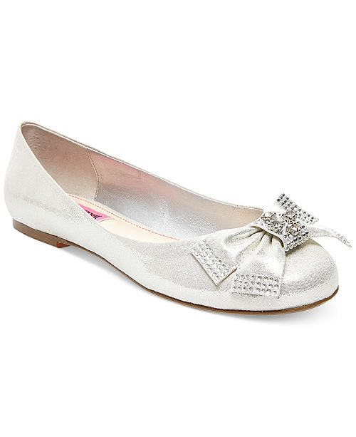 Betsey Johnson Emy Bow Flats