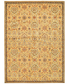 "kathy ireland Home Ancient Times Persian Treasures Gold 7'9"" x 10'10"" Area Rug"