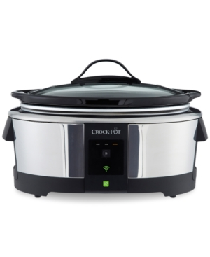 Crock-Pot SCCPWM600-pop 6-Qt. Smart Slow Cooker with WeMo Technology