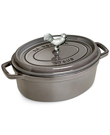 Enameled Cast Iron 5.75-Qt. Cast Iron Coq au Vin Cocotte