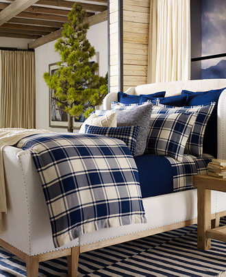 Ralph Lauren Winter Harbour Collection Bedding
