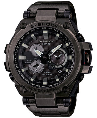 G-Shock Men's Black Ion-Plated Stainless Steel Bracelet