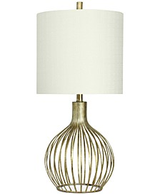 Transitional Metal Table Lamp