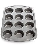 Martha Stewart Collection Nonstick 12-Count Muffin Pan, Created for Macy's