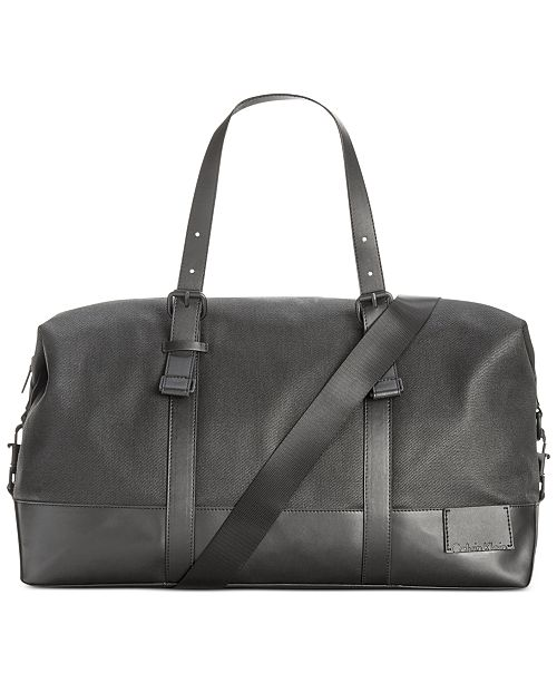 Calvin Klein Coated Canvas Duffle Bag   Reviews - All Accessories ... 1b3f951559796
