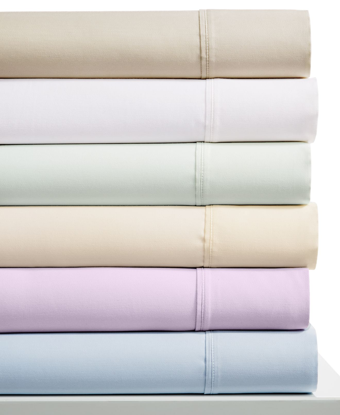 CLOSEOUT! Belmont 800-Thread Count Egyptian Cotton Blend 6-Pc. Sheet Sets - Sheets - Bed & Bath - Macy's