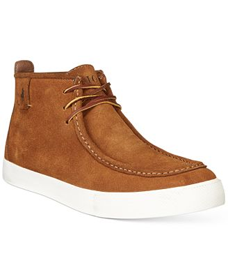 Polo Ralph Lauren Tron Wallabee Chukka Boots - All Men's Shoes ...
