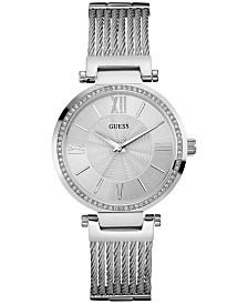 GUESS Women's Stainless Steel Bracelet Watch 36mm U0638L1
