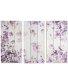 Graham & Brown Birds & Butterflies Wall Art Trio